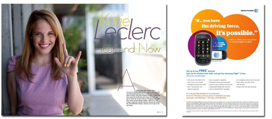 Katie Leclerc — ABC Family Star and Ménière's Disease