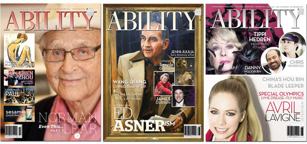 Norman-Lear, Ed Asner and Avril Lavigne Covers