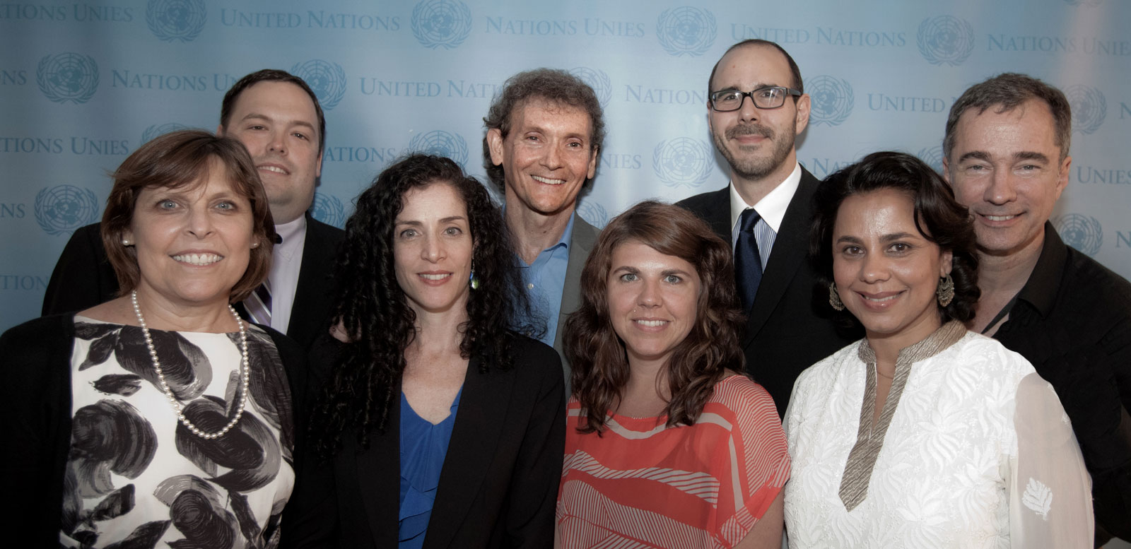 Top L to R: Justin Stockton, Chet Cooper, Marcel Bucsescu and John McMahon Bottom L to R: Paula Pearlman, Maya Sabatello (ABILITY Awareness Board Member), Jessica Devaney and Salma Hasan Ali