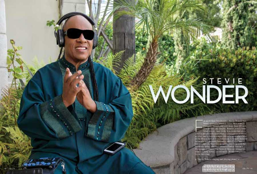 Stevie Wonder issue