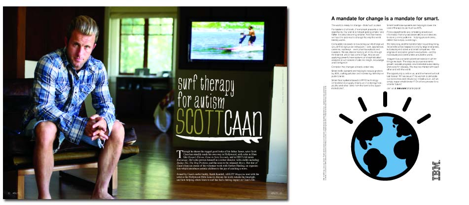 Scott Caan � Surf Therapy for Autism