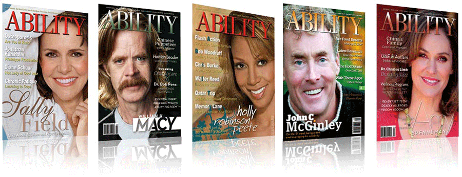 ABILITY Magazine Covers of past issues